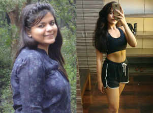 This girl ate waffles and lost 22 kilos