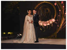 Unseen pics from PC-Nick's Hindu wedding