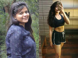 This girl lost 22 kilos and ate waffles for her cheat meal