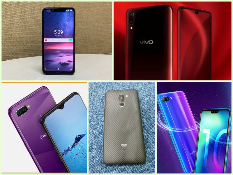 Nokia 8 1 vs Xiaomi Poco F1 vs Vivo V11 Pro vs Oppo F9 Pro