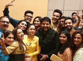 Celebs join Kapil for pre-wedding festivities