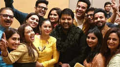 New pics from Kapil Sharma and Ginni Chatrath's pre-wedding celebrations
