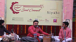 Samarth Janve and group delights audience with early morning soulful ragas