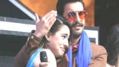 Ranveer Singh and Sara Ali Khan promote 'Simmba' on music reality show