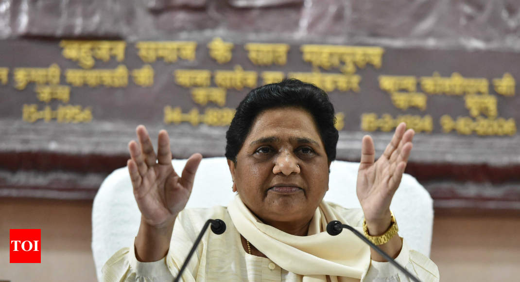 How the picture will change if Mayawati rethinks alliances - Times of India