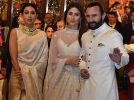 Photos: Kareena Kapoor Khan, Saif Ali Khan and Karisma Kapoor attended Isha Ambani and Anand Piramal's wedding ceremony