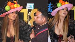 Rakhi Sawant wears bizarre outfit, Deepak Kalal says he designed it