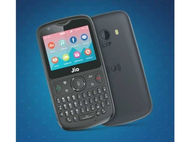 f6a63435c jio phone 2  Reliance Jio Phone 2 flash sale at 12pm today  Cashback ...