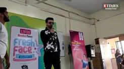 Aamir Ali at NM college for Livon Bombay Times Fresh Face season 11 auditions