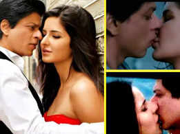 Katrina Kaif's response on being lucky to get Shah Rukh Khan's first kiss