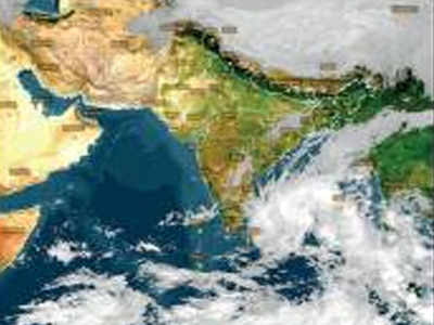 Chennai weather: Cyclone Phethai likely in 36 hours, Chennai ... on india map direction, street map direction, boston map direction,