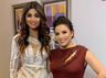 Shilpa Shetty Kundra and Hollywood star Eva Longoria pose for a happy picture