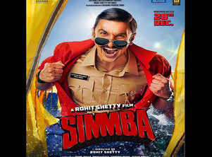Ranveer shares a new poster of 'Simmba'