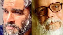 R Madhavan debuted his look as Nambi Narayan for his upcoming film  'Rocketry'