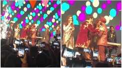 Watch Satinder Sartaaj, Babbu Maan and Bhagwant Maan having a gala time at Kapil Sharma's wedding reception