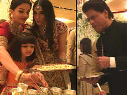 Not only Amitabh Bachchan, Aishwarya Rai, Shah Rukh Khan and other celebs also served food to guests at Isha Ambani's wedding