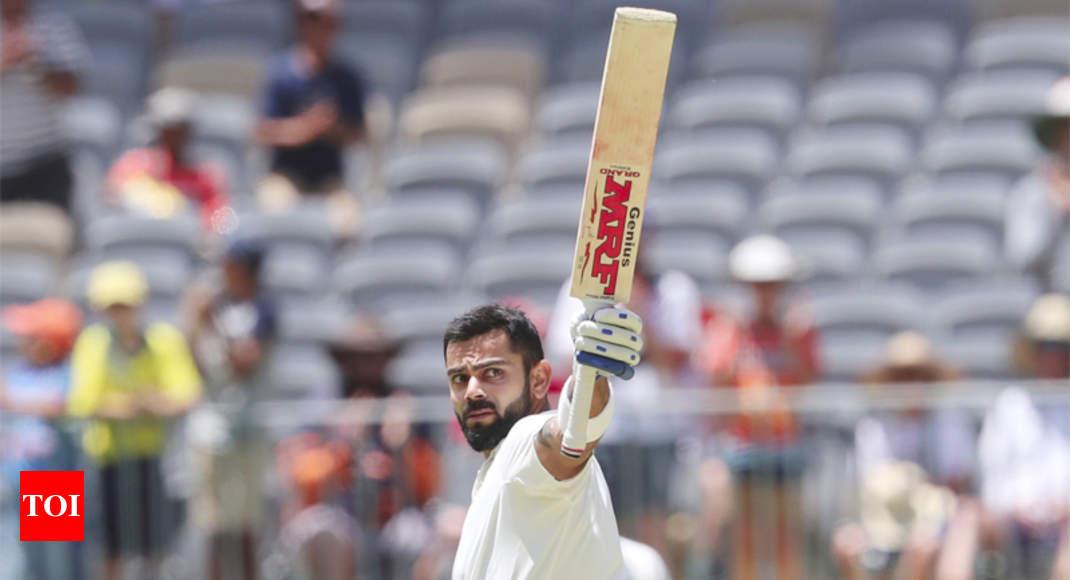 Virat Kohli hits 25th Test century, equals Sachin Tendulkar's record of six tons in Australia
