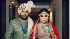 Kapil Sharma and Ginni Chatrath get married in a Sikh style wedding