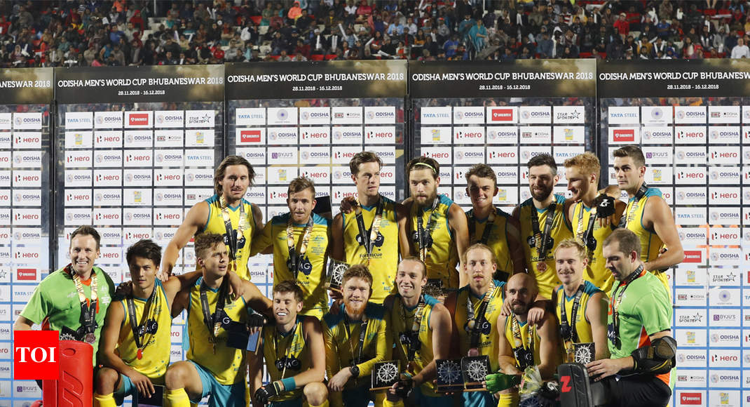Hockey World Cup Australia Thrash England 8 1 To Clinch Bronze