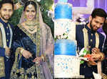 First pictures from Saina Nehwal and Parupalli Kashyap's wedding reception