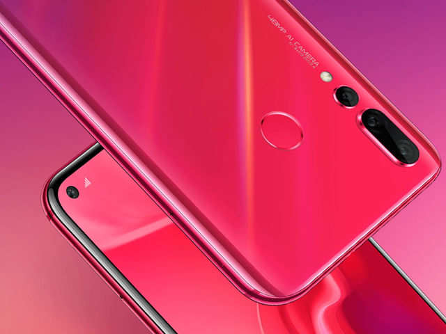 Huawei Nova 4, world's first smartphone with 'hole-punch' screen & 48MP camera launched
