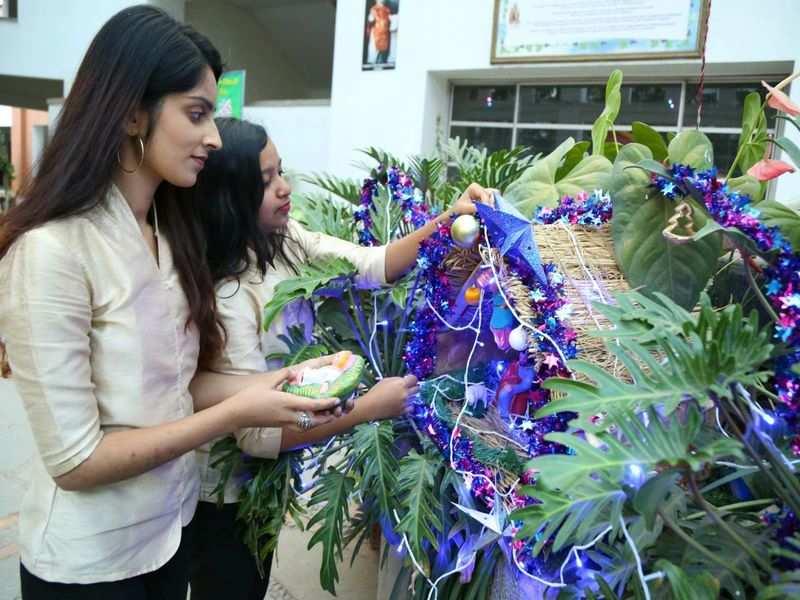 Carol singing and decorations galore: Christmas spirit takes over Bengaluru colleges