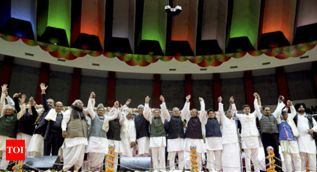 Not sensible to stake claim to leadership right now, feels Congress - Times of India