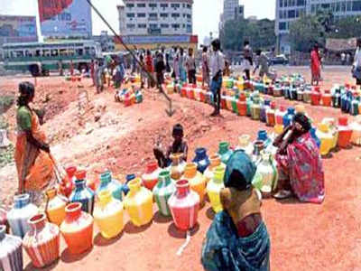 Image result for water scarcity in chennai