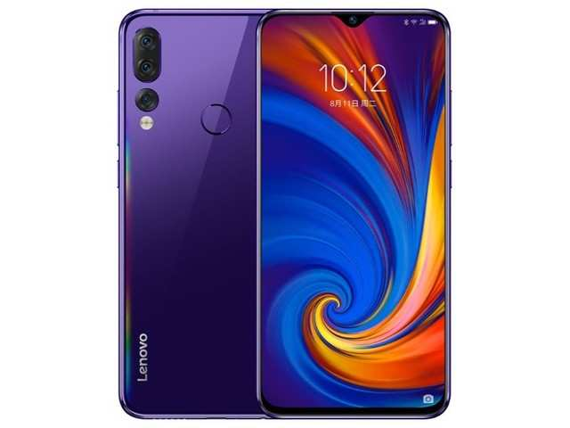 Lenovo Z5s with Android Pie, triple rear camera launched