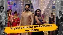 Udann onlocation: Krystle D'Souza's special performance with Suraj