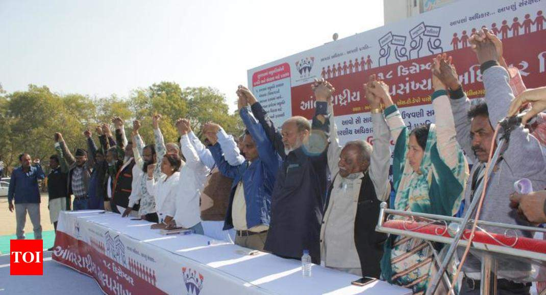 Guj: Activists up demand for minority rights