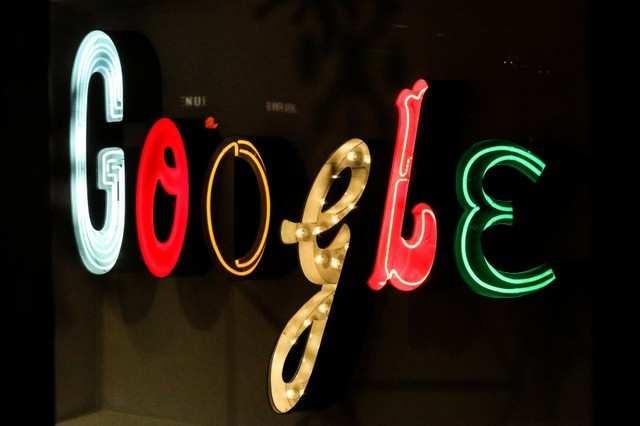 Google signage is seen at Google headquarters in the Manhattan borough of New York City, New York, U.S., December 17, 2018. REUTERS/Jeenah Moon