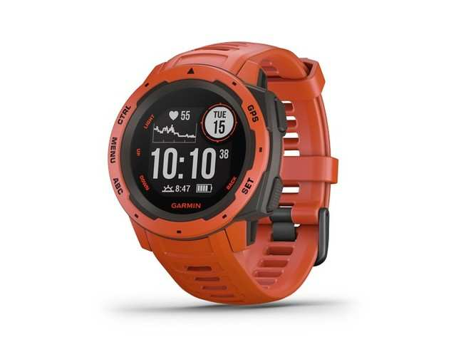 Garmin launches its first-ever Lifestyle GPS Watch 'Instinct' in India, priced at Rs 26,990