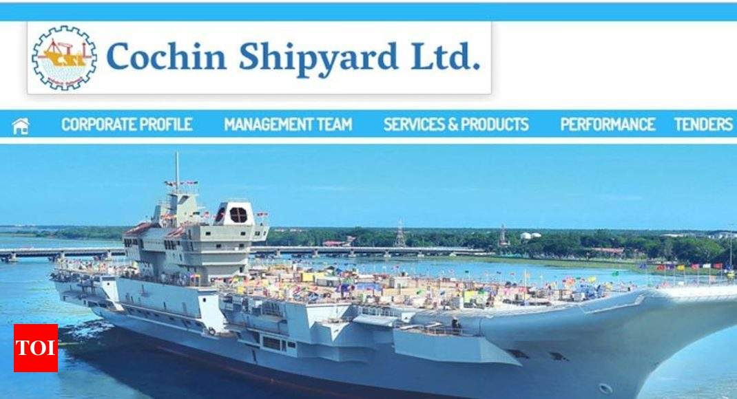 cochin shipyard apprentice recruitment 2018: apply for 200 posts