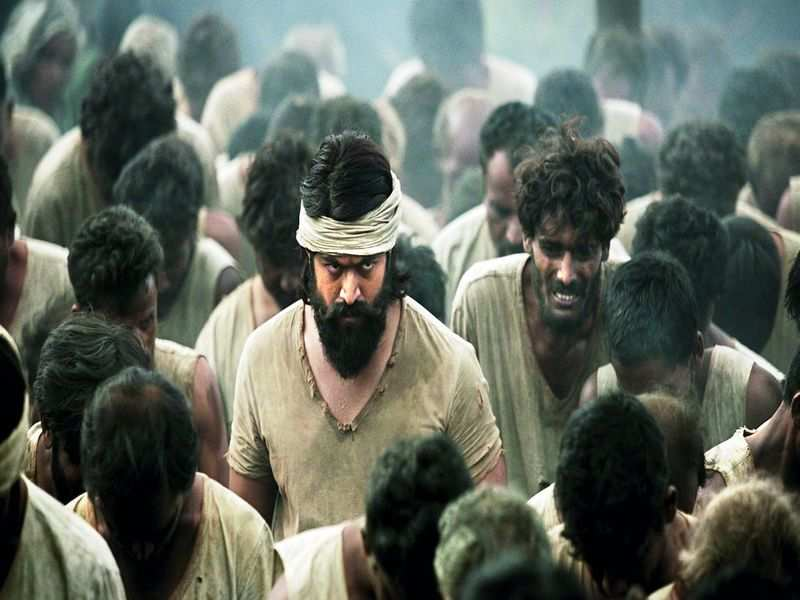 Kgf Kgf Review Rocky And His Life In The Gold Fields Of Kolar Is Here Kgf Movie Review