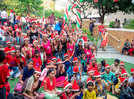 A fun-filled Christmas party for underprivileged children