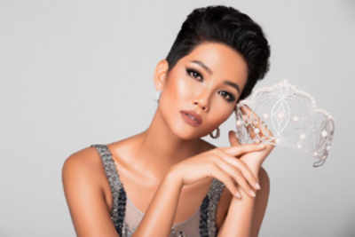 Miss Universe Vietnam donates her prize money for community service