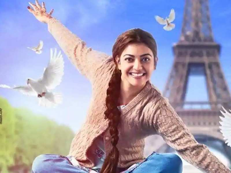 Paris Paris Teaser Kajal Aggarwal Stuns In This Kangana Ranaut S Re Make Of Queen Tamil Movie News Times Of India