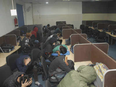 Nodia fake call centres: 126 arrests at bogus call centre