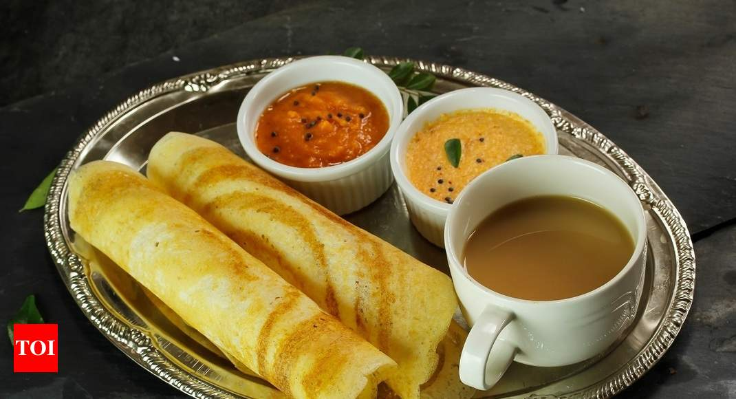 Dosa 2 Masala Dosas Enough To Provide Calories Needed In A Day