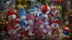 Old city market in Ahmedabad get set for Christmas