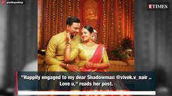 Moonnumani actress Preetha Pradeep gets engaged