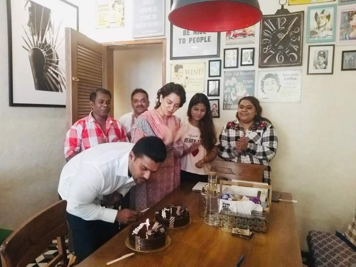 Photo: Kangana Ranaut celebrates her bodyguard's birthday | Hindi Movie  News - Times of India