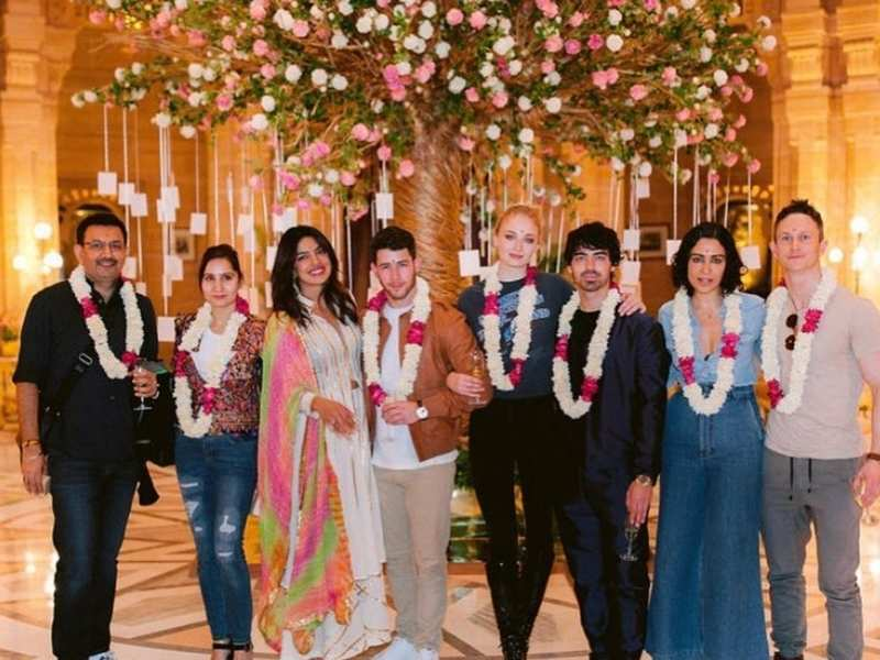 Here Are Some More Unseen Pictures From Priyanka Chopra Nick Jonas Wedding Festivities Hindi Movie News Times Of India