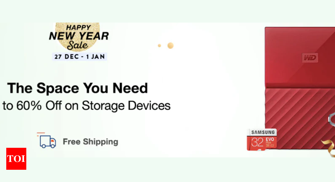 Happy New Year Sale Get 60 Off On Storage Devices At Paytm Mall