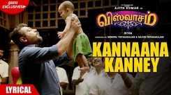 Viswasam   Song - Kannaana Kanney (Lyrical)