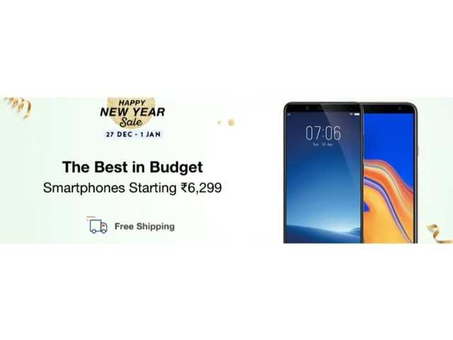 Happy New Year sale on Paytm Mall: Discounts on smartphones, TVs and other electronic devices