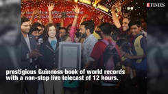 'Comedy Utsavam' registers a Guinness record for its first-of-its-kind event