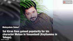 I never thought that Kerala audience would accept me, says Vanambadi actor Sai Kiran Ram