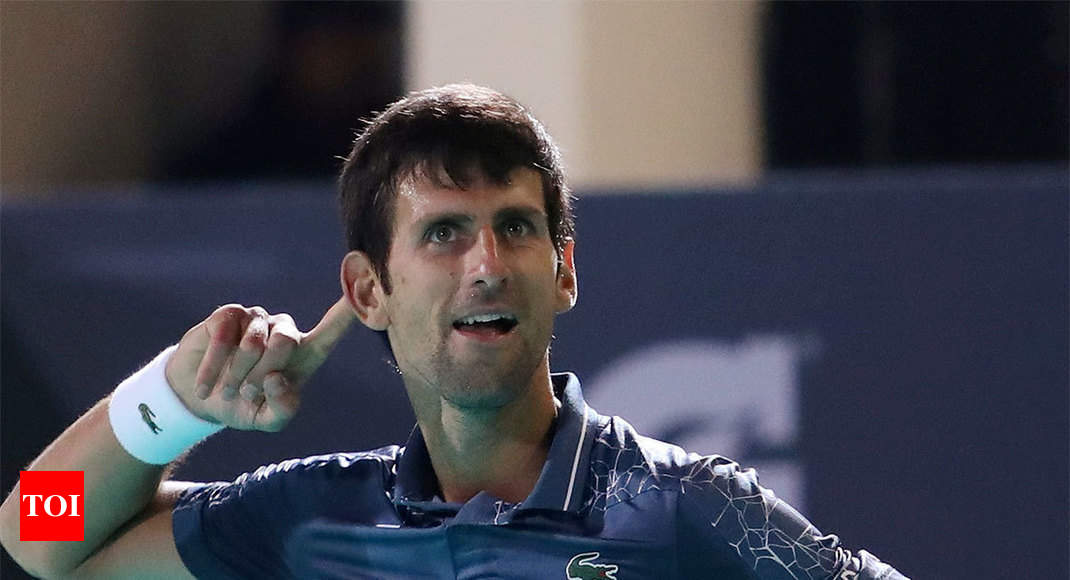 'I'd be lying if Federer record not on my mind,' says Djokovic